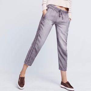 Cloth & Stone Moonstone Frayed Ankle Pants Petite
